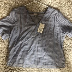"""Target """"A New Day"""" Striped Top NWT"""